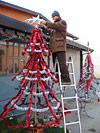 Juletre i San Patrignano