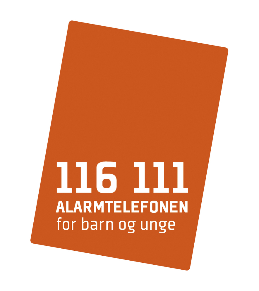 Logo alarmtelefon for barn og unge