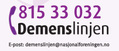 Demenslinjen logo for telefonnummer