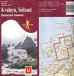 Kart Kvaløya og Seiland - klikk her for en større versjon