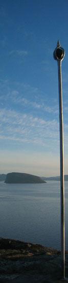 Utsnitt av Middagsstanga og Håja. Foto: Hammerfest kommune/Hanne Bornø Duurhuus