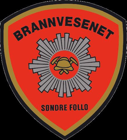 Søndre Follo brannvesen logo