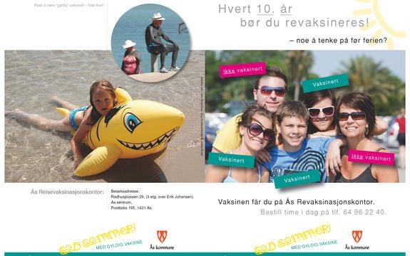Illustrasjon til Ås reisevaksinasjonskontor