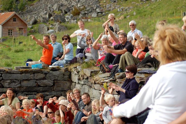 Konsert på Berg i 2009