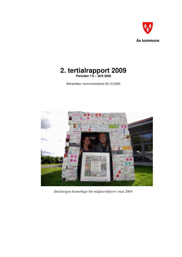 2. tertial 2009 illustrasjonsbilde
