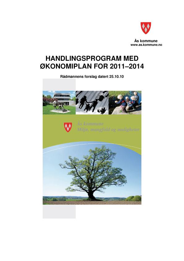 Handlingsprogram 2011 - 2014 struktur forsideillustrasjon