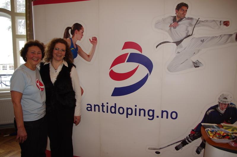Antidoping seminar illustrasjnsbilde Bjørnstad og Roxrud Leinhardt