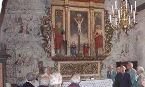 Kalkmaleri Dale kyrkje