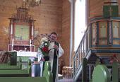 Fet kyrkje, innvendig
