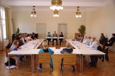 Barn og unges kommunestyremøte