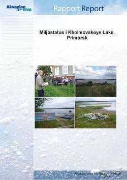 Rapport Primorsk ingressbilde