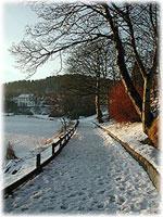 Vakker januardag ved Storevatnet