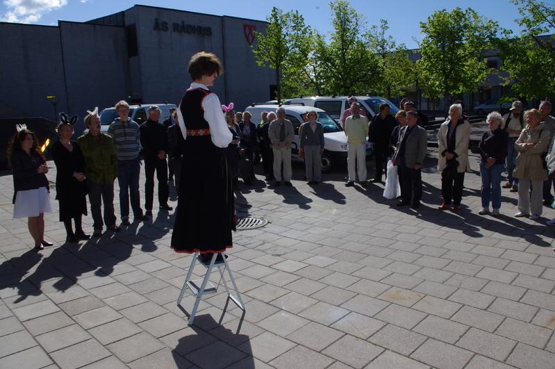 Åpning av biblioteket i Ås