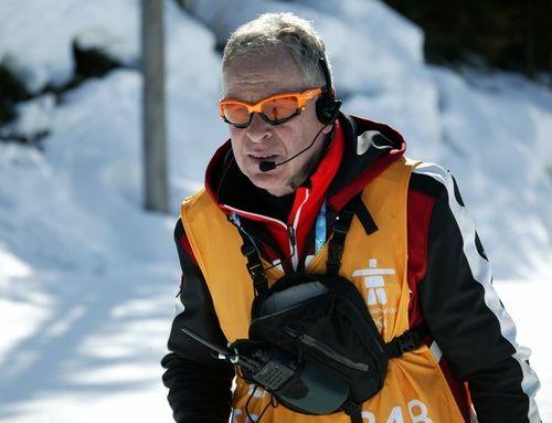 INGE BRÅTEN där han trivdes bäst: Som tränare i skidspåret. Här under OS i Vancouver 2010 som tränare för hemmanationen Kanada. Foto: KJELL-ERIK KRISTIANSEN