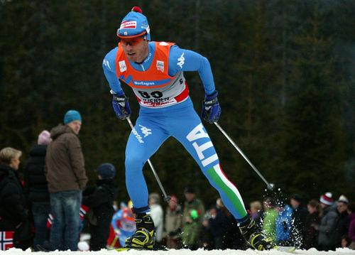 ROLAND CLARA har varit på pallen både i Sjusjöen (bilden) och i Kuusamo. 29-åringen från Bruneck är säsongens överraskning. Foto: KJELL-ERIK KRISTIANSEN