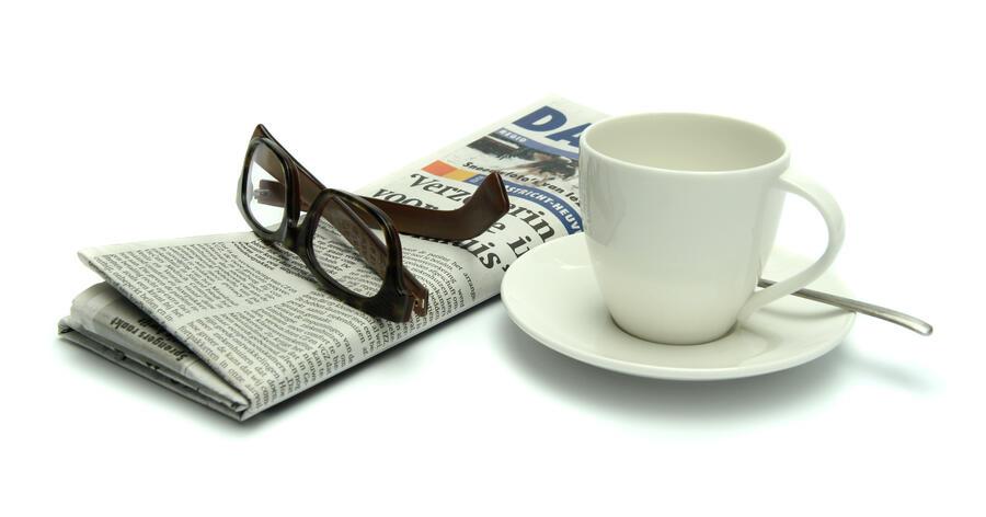 newspapercoffee