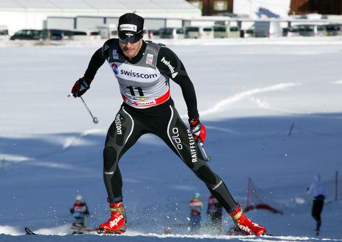 DARIO COLOGNA vann världscupsprinten i Rogla efter en stark final. Foto: STEPHAN KAUFMANN