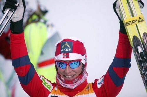 MARIT BJØRGEN är utsedd till Europas 4:e bästa idrottare i 2011. Foto: KJELL-ERIK KRISTIANSEN
