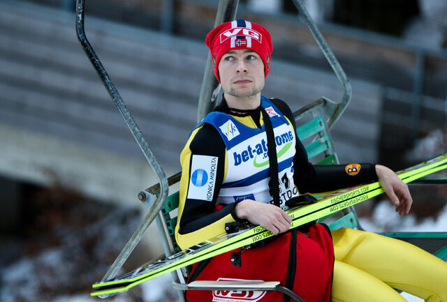 05.02.2011, Oberstdorf, Germany (GER): Anders Jacobsen (NOR), Fischer - FIS world cup ski jumping, individual HS213, Oberstdorf (GER). www.nordicfocus.com. © Laiho/NordicFocus. Every downloaded picture is fee-liable.