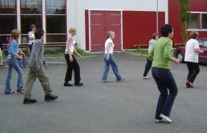 Dans ungdomsskolen