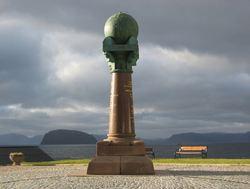 Meridianstøtten, Foto Bjørn Geirr Hansson