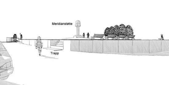 Meridianstøtten, prosjekt