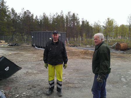 Mottak for grovavfall i Dyrøy