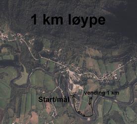 Terrengløp 1 km