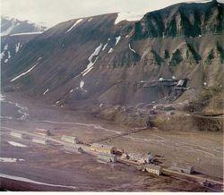 Gammel bebyggelse i Nybyen
