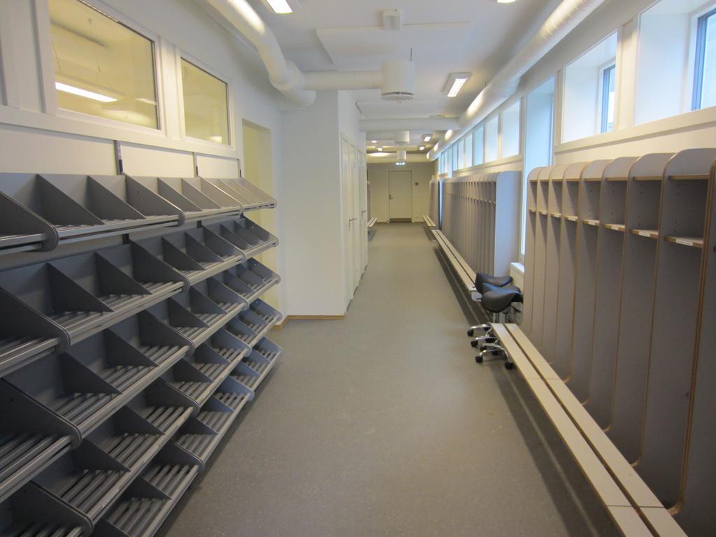 Paviljong garderobe - Foto: Morten Langerud