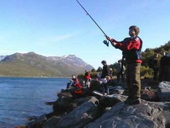 Sommeropplevelse Fra Manndalen Fiskefestival Gaivuotna Kafjord