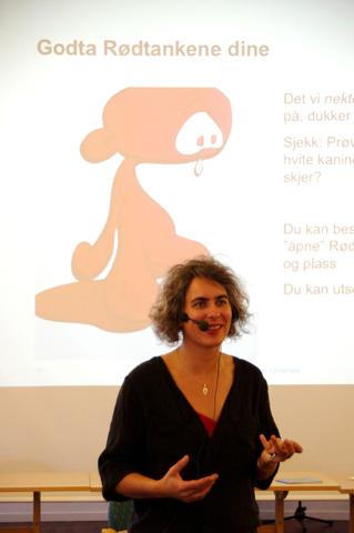 Psykologisk Førstehjelp foredragsholder Solfrid Raknes
