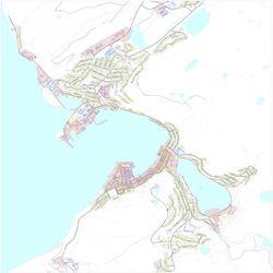 Kart over forurenset grunn i Hammerfest kommune