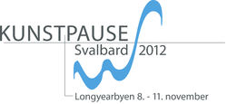 Logoen for KunstPause Svalbard 2012