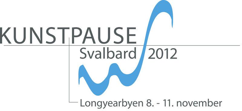 Logoen for KunstPause Svalbard 2012
