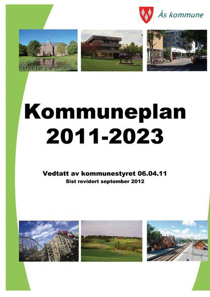 Forside kommuneplan 2011-2023