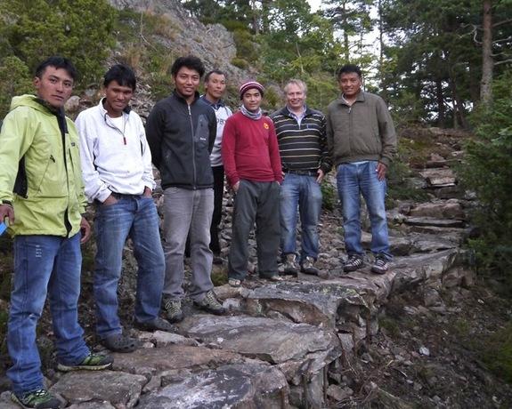 Sherpaene som bygget stien