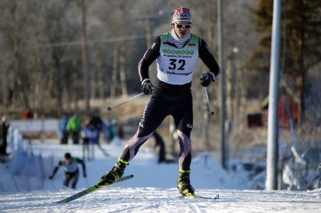 JOHAN ERIKSSON, Åsarna var snabbast i prologen i dagens sprint i Idre. Foto: MOA MOLANDER KRISTIANSEN