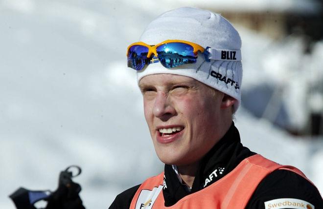 FREDRIK JONSSON, Hudiksvalls IF har varit sjuk i längre tid och när pulsen rusade iväg flera gånger lades han i söndags in akut på sjukhuset i Östersund. Foto: KJELL-ERIK KRISTIANSEN