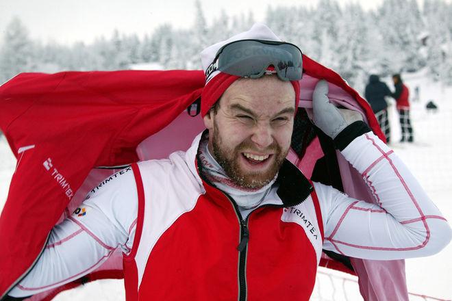 - TUNGT OCH JOBBIGT, tyckte Stockviks Anders Jonsson om loppet. Foto: KJELL-ERIK KRISTIANSEN
