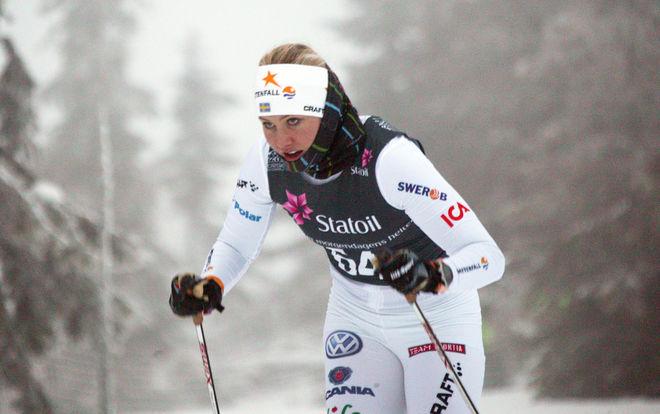 MARIKA SUNDIN gjorde ett fint lopp i Sjusjöen. Foto: KJELL-ERIK KRISTIANSEN