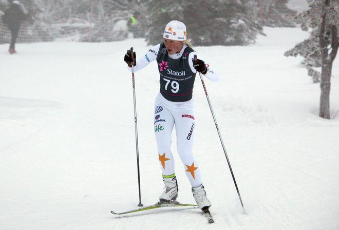 JONNA SUNDLING imponerade med en 9:e plats i seniorklassen! Foto: KJELL-ERIK KRISTIANSEN