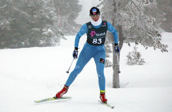 EVA SVENSSON, IFK Mora SK körde i norsk dräkt. Men så bor hon också i Trondheim där hon studerar till läkare. Foto: KJELL-ERIK KRISTIANSEN