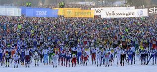 Vasaloppet 120304Starten i SälenFoto Nisse Schmidt