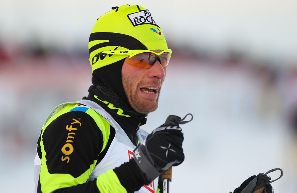 30.11.2012, Kuusamo, Finland (FIN): Jean Marc Gaillard (FRA), Fischer, Swix, Rottefella, One Way - FIS world cup cross-country, individual sprint, Kuusamo (FIN). www.nordicfocus.com. © Laiho/NordicFocus. Every downloaded picture is fee-liable.