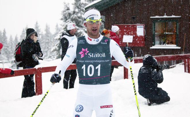 ANDERS SÖDERGREN var trea i BUL-sprinten i Norge. Foto: KJELL-ERIK KRISTIANSEN