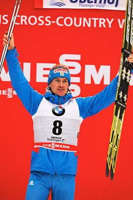 30.12.2012, Oberhof, Germany (GER): Maxim Vylegzhanin (RUS)- FIS world cup cross-country, tour de ski, pursuit men, Oberhof (GER). www.nordicfocus.com. © Felgenhauer/NordicFocus. Every downloaded picture is fee-liable.