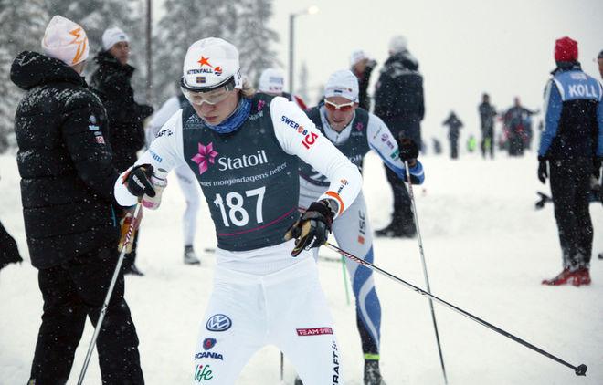 OSCAR IVARS från Falun-Borlänge SK vann H19-20 i Scandic Cup och också i finalen idag. Foto: KJELL-ERIK KRISTIANSEN