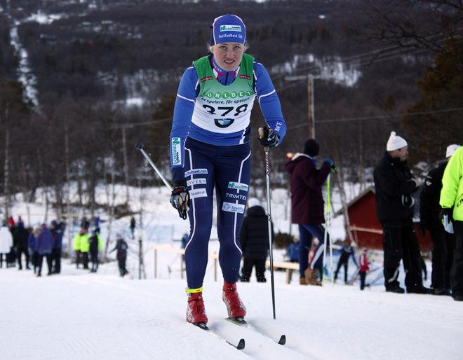 MARIKA SUNDIN, Sollefteå SK är en av 8 svenska åkare i U23-VM i tjeckiska Liberec. Foto: MOA MOLANDER KRISTIANSEN