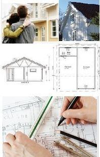 Illustrasjon byggeplaner